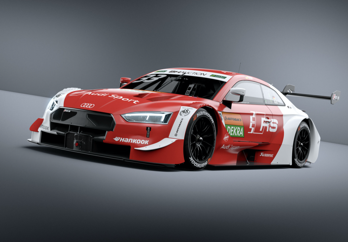 Team Rosberg A Dream Comes True Four Audi Rs 5 Dtm In Dream Race In Japan